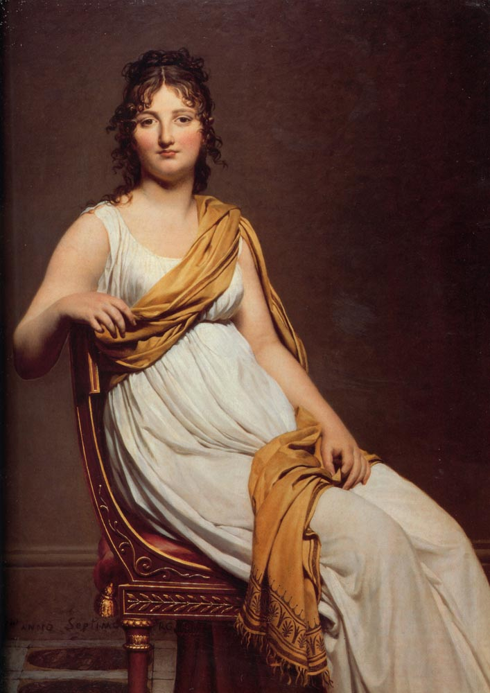 Jacques Louis David Artiste Neoclassique Francais